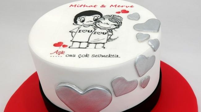 Güllüoğlu'ndan Aşk Dolu Pastalar