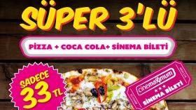 Pizza Yiyenler Sinema Bileti Kazaniyor!