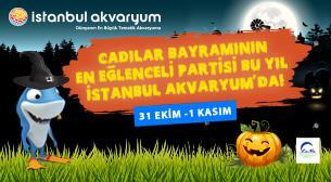 İstanbul Akvaryum Cadılar Bayramı Partisi