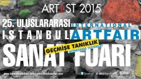 Uluslararası İstanbul Sanat Fuarı Artist 2015